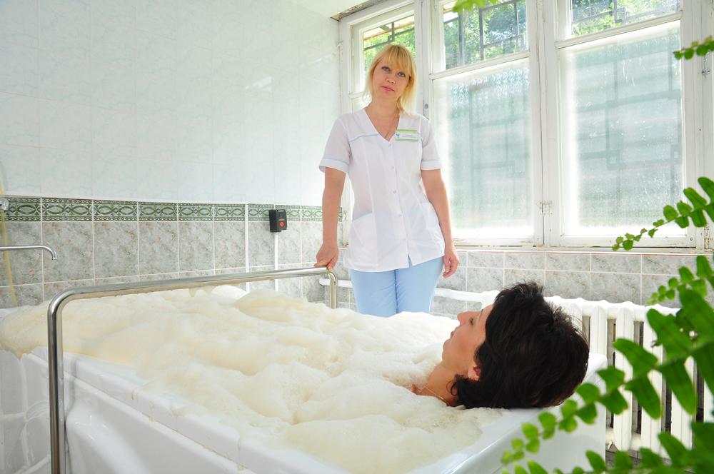 Пенно-солодковые ванны